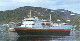 Midnatsol ship