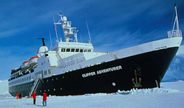 Clipper Adventurer expedition cruise ship