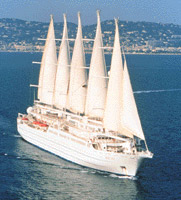 Club Med 2 cruise sail ship