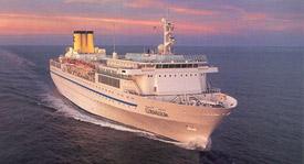 Costa Cruises-Costa Allegra cruise ship