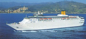 Costa Cruises-Costa Classica cruise ship