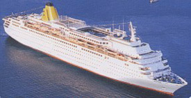 Costa Europa cruise ship