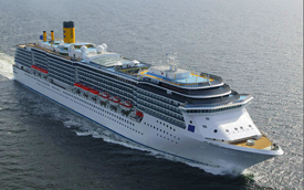 Costa Mediterranea cruise ship