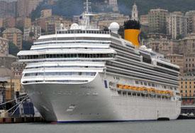 Costa Cruises-Costa Pacifica ship