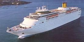 Costa Cruises-Costa Romantica ship