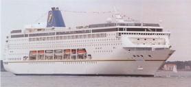 Festival Cruises-Mistral ship
