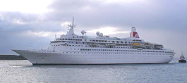 Fred Olsen Cruise Lines-Boudicca ship