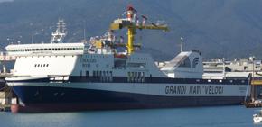 GNV-Coraggio ship