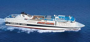 Grimaldi Lines-La Suprema ship