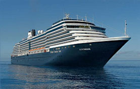 Holland America Line-Oosterdam cruise ship
