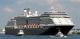 Holland America Line-Westserdam cruise ship