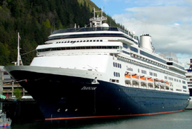 Holland America Line-Zaandam cruise ship