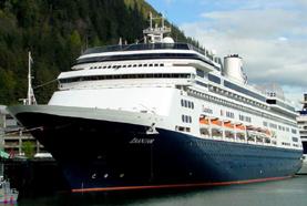 Holland America Line-Zaandam cruise ship