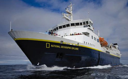 National Geographuc Explorer ship