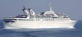 Louis Cruise Line-Orient Queen ship