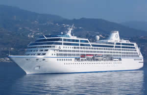 Insignia cruise ship