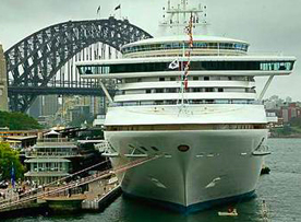 Princess Cruises-Sapphire Princess ship