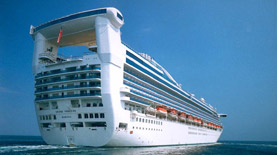 Princess Cruises-Star Princess ship