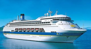 PO Australia-Pacific Dawn cruise ship