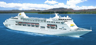 PO Australia-Pacific Pearl cruise ship