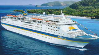 PO Australia-Pacific Sun cruise ship