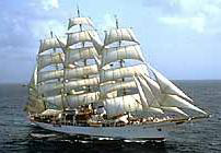Sea Cloud sailing ship
