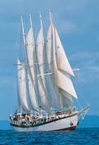 Polynesia tall ship