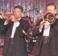 Cruise ship showband musicians
