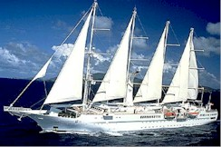 Windstar Cruises-Wind Spirit tall ship