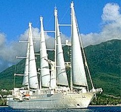 Wind Star tall ship
