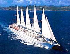 Windstar Cruises-Wind Surf tall ship